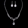 Jewelry Sets Chain Necklaces Rhinestones Beautiful Anniversary