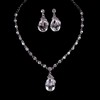 Beautiful Chain Necklaces Special Occasion Rhinestones Jewelry Sets