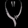 Rhinestones Vintage Necklaces Exquisite Birthday Jewelry Sets