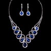 Jewelry Sets Clip Earrings Special Occasion Alloy Luxurious