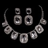 Jewelry Sets Drop Earrings Anniversary Exquisite Rhinestones