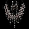 Gift Drop Earrings Fancy Rhinestones Jewelry Sets