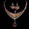Jewelry Sets Pendant Necklaces High Quality Engagement Rhinestones