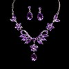 Rhinestones Drop Earrings Gift Jewelry Sets Stylish