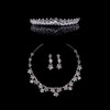 Gorgeous Drop Earrings Jewelry Sets Rhinestones Engagement