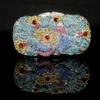 Crystal/Rhinestone Bridal Purse Charming Single Shoulder Strap Metal