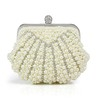 Metal Clutches Single Strap Crystal/Rhinestone Fashional
