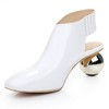 Women's Pumps/Heels Abnormal/Fantasy Heels Outdoor Average Booties/Ankle Boots Patent Leather