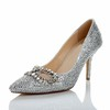 Rhinestone Pumps/Heels Girls' Average Sheepskin Party & Evening Kitten Heel