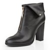 Casual Wedding Shoes Average Closed Toe Booties/Ankle Boots Women's Chunky Heel
