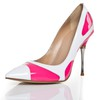 Average Wedding Shoes Women's Cone Heel Daily Closed Toe Patent Leather