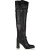 Buckle Boots Kitten Heel Pumps/Heels Casual Genuine Leather Over The Knee Boots