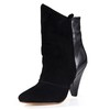 Honeymoon Pumps/Heels Girls' Split Joint Boots Booties/Ankle Boots Kitten Heel