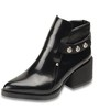 Rivet Pumps/Heels Pointed Toe Chunky Heel Girls' Average Booties/Ankle Boots