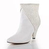 Office & Career Boots Bootie Booties/Ankle Boots Average Split Joint Cow Leather