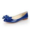 Bowknot Loafers Dress Sheepskin Pointed Toe Flat Heel Girls'