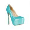Average Pumps/Heels Women's Pointed Toe Wedding Cone Heel Patent Leather