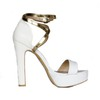 Average Pumps/Heels Graduation Women's Buckle Chunky Heel Genuine Leather