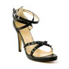 Buckle Sandals Sandals Sheepskin Average Stiletto Heel Party & Evening