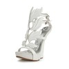 Round Toe Platforms Average Abnormal/Fantasy Heels Patent Leather Girls' Buckle