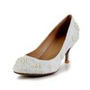Honeymoon Pumps/Heels Women's Abnormal/Fantasy Heels Medium Imitation Pearl Pumps/Heels