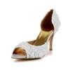 Daily Pumps/Heels Satin D'Orsay & Two-Piece Medium Women's Flower