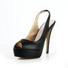 Sandals Platforms Party & Evening Genuine Leather Women's Stiletto Heel