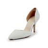 Abnormal/Fantasy Heels Wedding Shoes Girls' Party & Evening Patent Leather Average Imitation Pearl