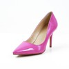 Girls' Wedding Shoes Kitten Heel Patent Leather Pumps/Heels Honeymoon