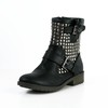Sheepskin Boots Booties/Ankle Boots Buckle Comfort Women's Medium