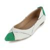 Closed Toe Loafers Flat Heel Women's Dress Split Joint Average