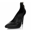 Girls' Wedding Shoes Zipper Sheepskin Outdoor Pumps/Heels Stiletto Heel