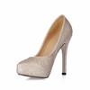 Narrow Platforms Pumps/Heels Sparkling Glitter Party & Evening Abnormal/Fantasy Heels Sequined Cloth/Sparkling Glitter