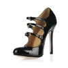 Dress Sandals Buckle Closed Toe Opalescent Lacquers Average Girls'