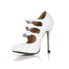 Opalescent Lacquers Wedding Shoes Average Women's Dress Pumps/Heels Stiletto Heel