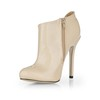 Zipper Boots Stiletto Heel Opalescent Lacquers Booties/Ankle Boots Closed Toe Party & Evening