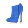Stretch Fabric Boots Women's Dress Booties/Ankle Boots Zipper Stiletto Heel