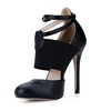 Stiletto Heel Dance Shoes Dress Pumps/Heels Women's Stretch Fabric Buckle