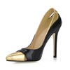 Opalescent Lacquers Pumps/Heels Hollow-Out Women's Cone Heel Wedding Narrow