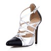 Narrow Wedding Shoes Pointed Toe Women's Split Joint Opalescent Lacquers Party & Evening