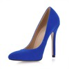 Office & Career Wedding Shoes Pumps/Heels Girls' Flock Narrow Stiletto Heel