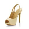Split Joint Platforms Pumps/Heels Stiletto Heel Opalescent Lacquers Girls' Narrow