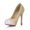 Cap-Toe Pumps/Heels PU Daily Women's Split Joint Stiletto Heel