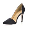 Girls' Pumps/Heels Narrow Party & Evening Stiletto Heel Silk Like Satin Closed Toe