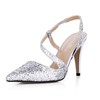 Pumps/Heels Sandals Girls' Sparkling Glitter Sequined Cloth/Sparkling Glitter Graduation Kitten Heel