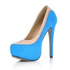 Split Joint Wedding Shoes Closed Toe Women's Stiletto Heel Extra Wide Party & Evening
