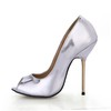 Girls' Wedding Shoes PU Average Stiletto Heel Graduation Open Toe