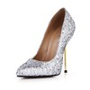 Stiletto Heel Wedding Shoes Average Sparkling Glitter Women's Daily Pumps/Heels