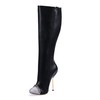 PU Wedding Shoes Average Pumps/Heels Knee High Boots Outdoor Women's