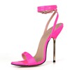 Girls' Sandals Stiletto Heel Opalescent Lacquers Open Toe Wedding Average
